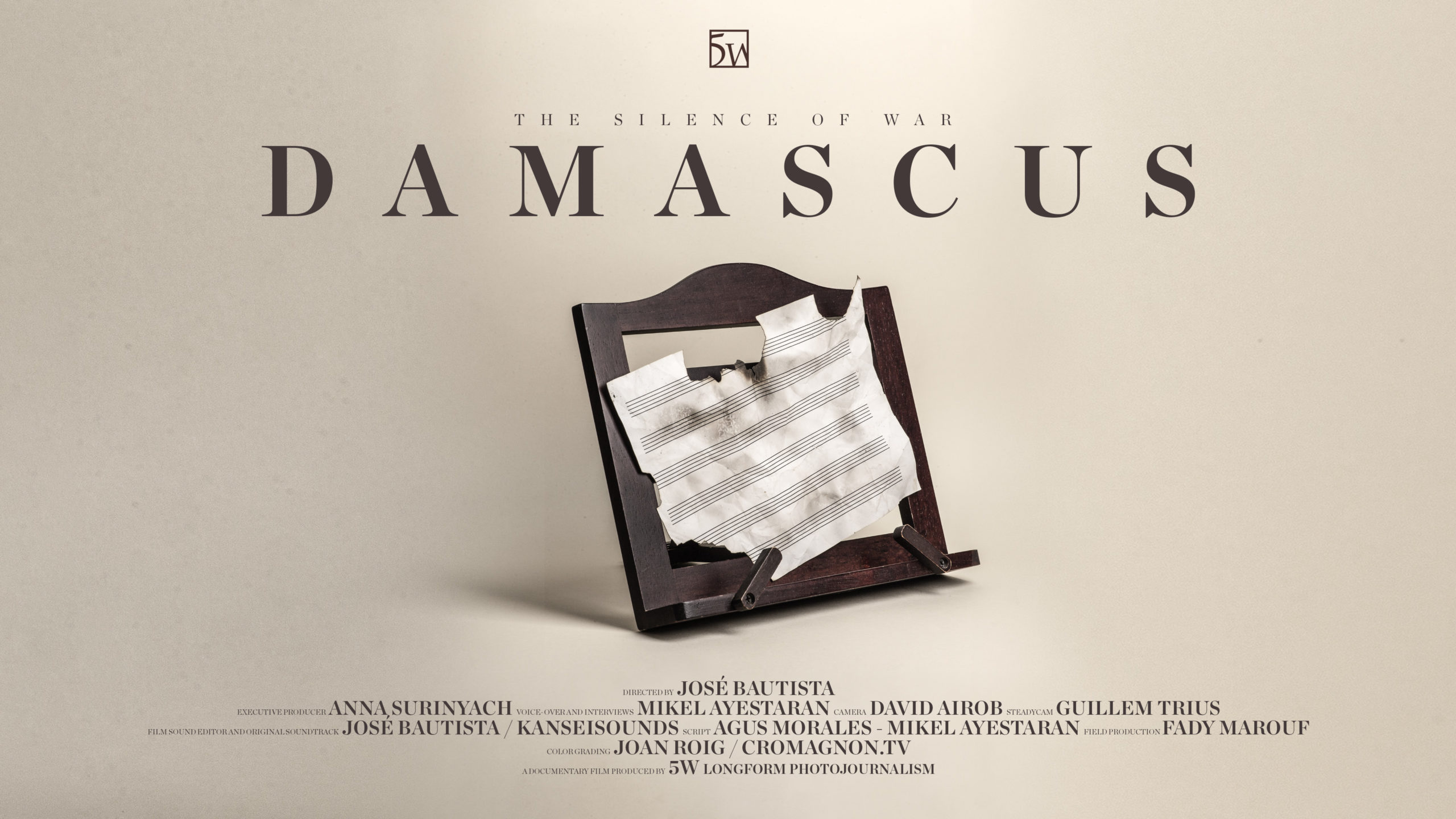 """AUX MAGAZINE Interview on """"The Silence of War: Damascus"""""""